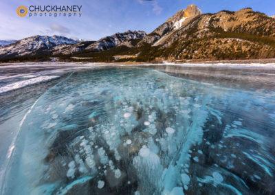 Abraham Lake-Ice-Bubbles -©Chuck Haney