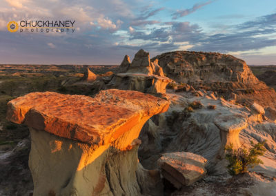 Theodore Roosevelt-Badlands-Formations