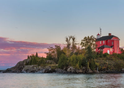 Lighthouse in Marquette