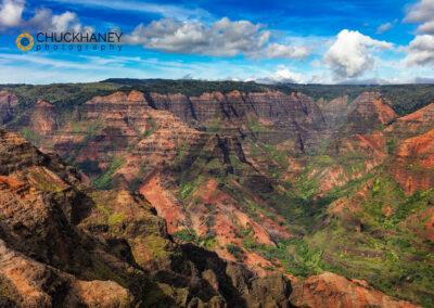 Waimea Canyon State Park in Kauai, Hawaii, USA